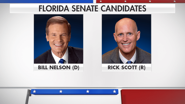 Image result for photos of rick scott and billnelson