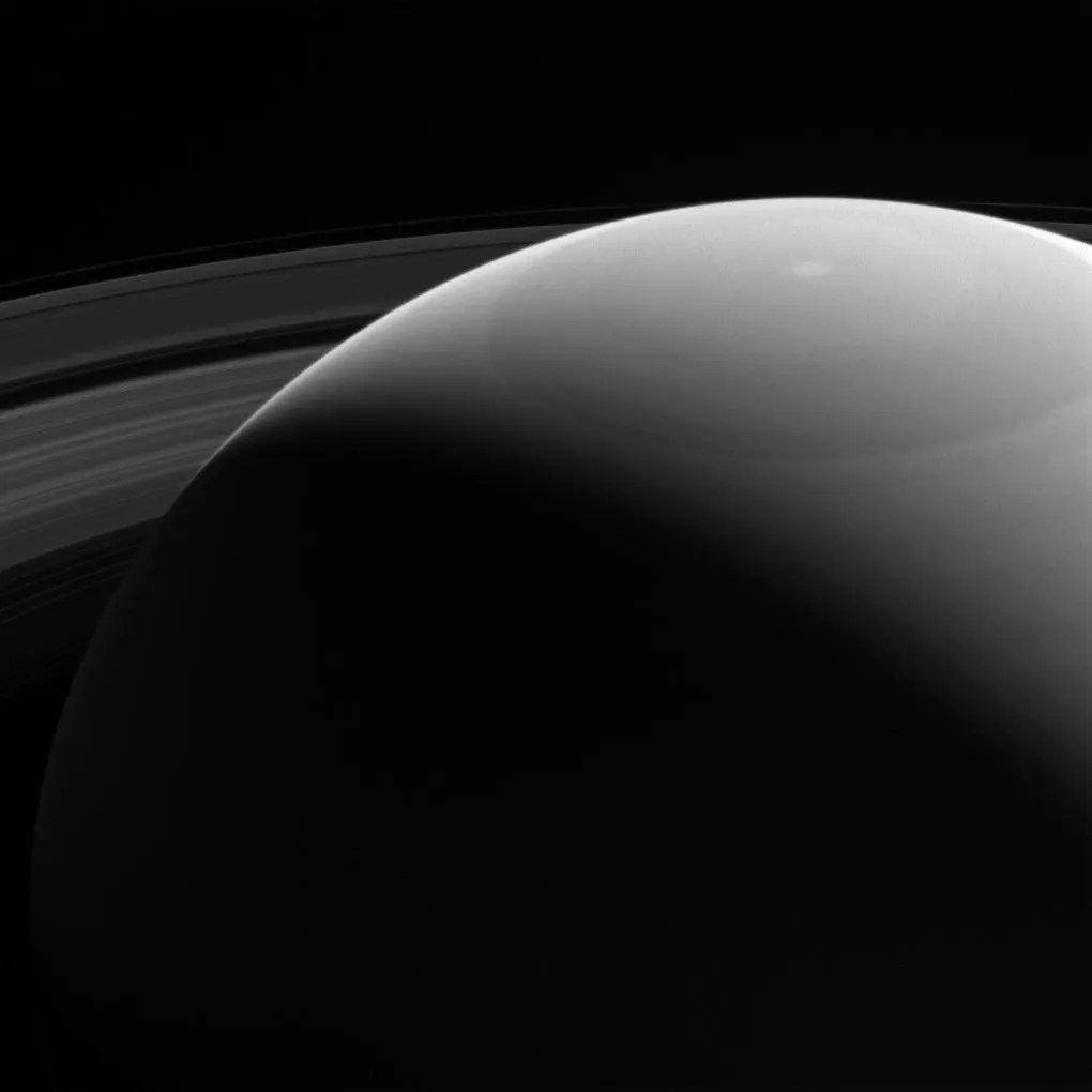 Cassini Captures Stunning View Of Saturn And