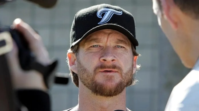 """Toronto Blue Jays television analyst Gregg Zaun has been fired Thursday from Sportsnet for """"inappropriate behavior and comments"""" toward female employees."""