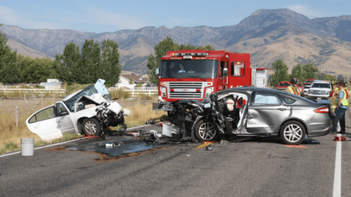 A mother was killed and her daughters were injured in a head-on crash with a 15-year-old boy's car.