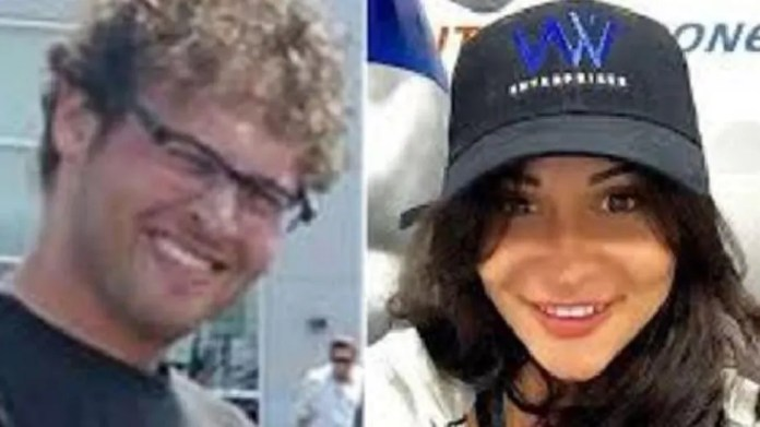 Blake Leibel, left, and Iana Kasian were former lovers who had a daughter together not long before Kasian was brutally murdered.