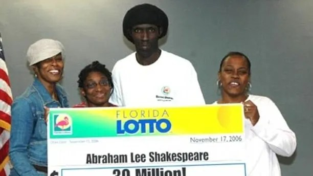 lottery winner pic