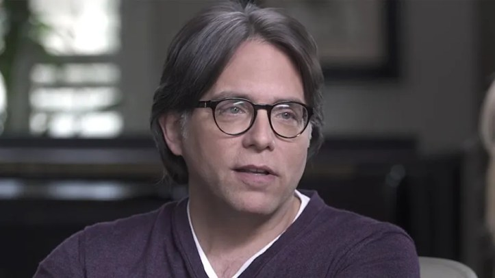 A screenshot of Keith Raniere.