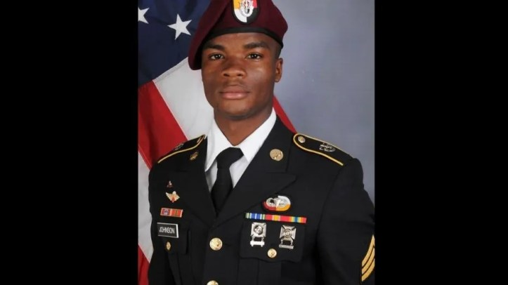 U.S. Army Sgt. La David Terrence Johnson, 25, was among four U.S. soldiers killed in Niger on Oct. 4.