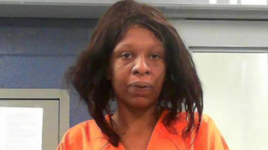 Latasha Barrett, 31, allegedly bit off part of another woman's finger Wednesday night after becoming upset the victim was twerking on her, authorities say.