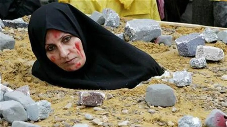 Image result for stoning women in middle east