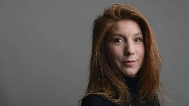 This is a Dec. 28, 2015 handout photo portrait of the Swedish journalist Kim Wall taken in Trelleborg, Sweeden. A Danish court ordered the owner of an amateur-built submarine Saturday, Aug. 12, 2017 to be held in pre-trial detention for 24 days while police investigate the disappearance of Kim Wall, a Swedish journalist who had been on the ship before it sank. (Tom Wall via AP)