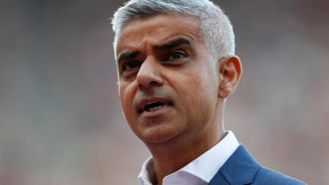 FILE: Sadiq Khan said President Trump is using the same rhetoric of ISIS when he implies that there is a clash of civilizations.