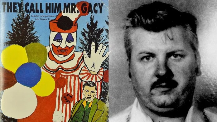 "The book ""They Call Him Mr. Gacy"" is set to be auctioned in the United Kingdom on Oct. 17."