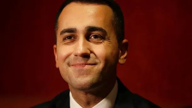 FILE - In this Jan. 31, 2018 file photo, Italian 5-Star Movement's Prime Ministerial candidate Luigi Di Maio smiles during a press conference ahead of the upcoming Italian general election at a hotel in London, Wednesday, Jan. 31, 2018. Di Maio is determined to become the populist 5-Star Movement's first premier. (AP Photo/Matt Dunham, files)