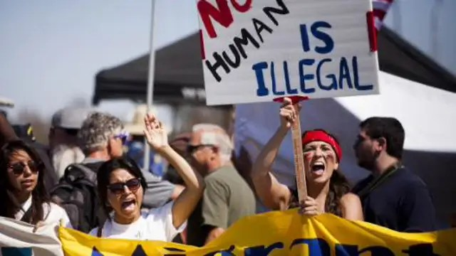 Image result for pro-immigrant rally
