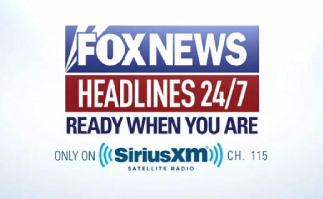Coming October 5th Fox News Headlines 24 7 On Siriusxm