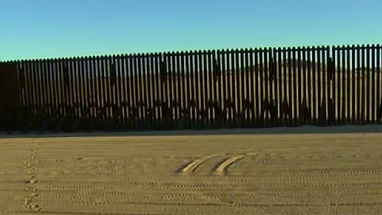 It works Yumas fence manpower make border nearly