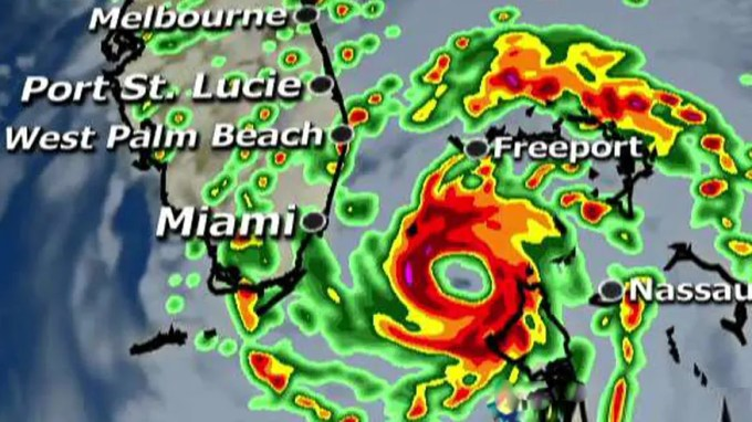 Storm could hit Florida as a category 4 hurricane