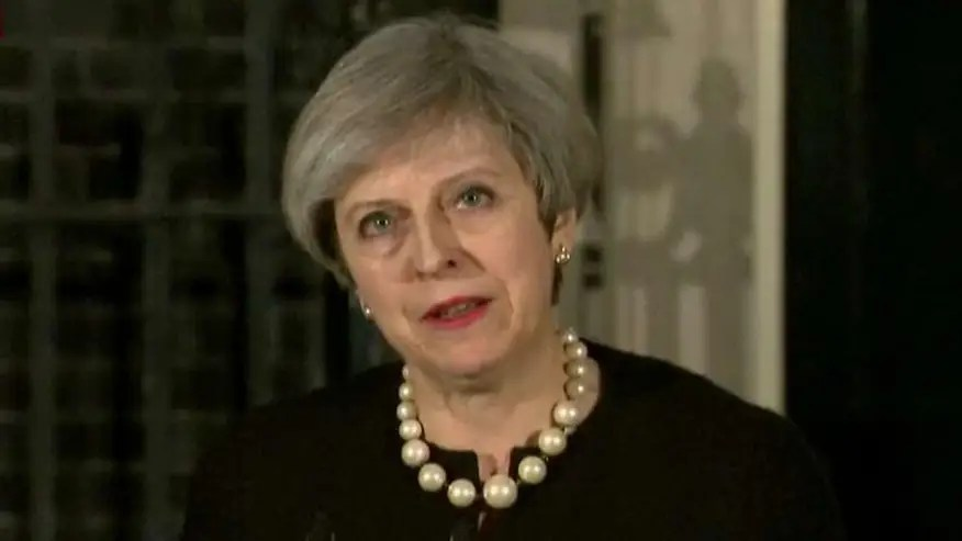 British prime minister comments on London terror attack