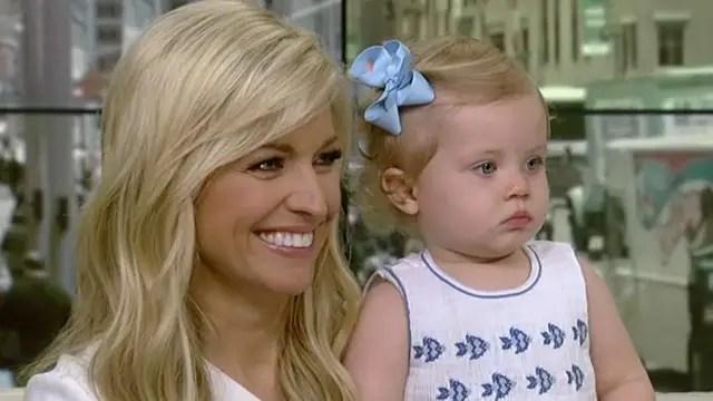 Ainsley Earhardt Brings Daughter Hayden To Work On Air