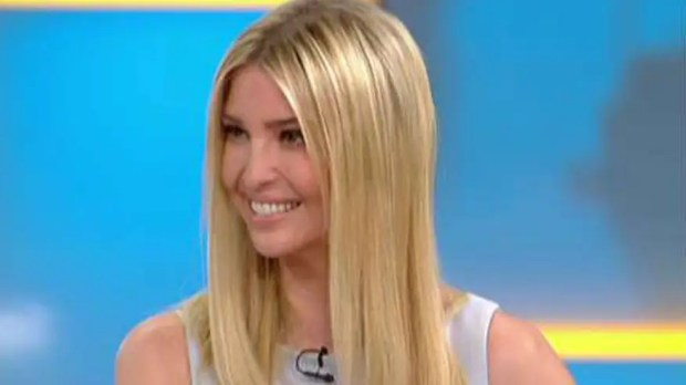 The president's daughter weighs in on 'Fox & Friends'