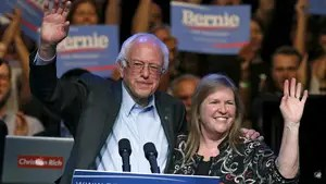 Jane Sanders, wife of former Democratic presidential candidate and Vermont Senator Bernie Sanders, is the subject of an FBI probe, dating back to her tenure as president of Burlington College. Sen. Sanders calls the investigation 'nonsense'