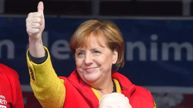 German leader re-elected for fourth term