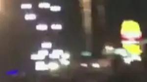 Gunfire erupts outside Mandalay Bay casino