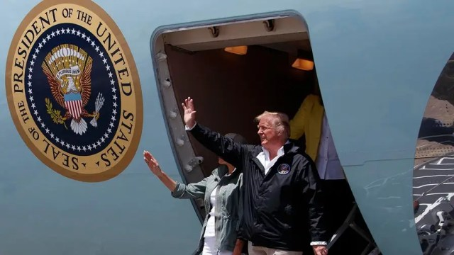 The president met with federal first responders and local officials and joked that the twin storms had stretched federal dollars a little thin; John Roberts has the roundup for 'Special Report.'