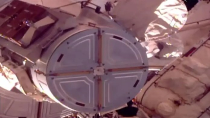 Crew embark on the first of a trio of October spacewalks to perform maintenance on the International Space Station.