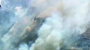 14 major wildfires burning across Northern California; Claudia Cowan reports from Sonoma County, California.