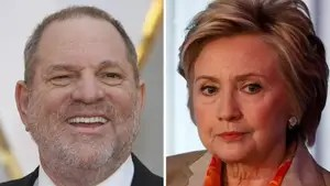 Former Democratic presidential nominee says she was 'shocked and appalled' by sexual misconduct allegations against Hollywood kingpin.