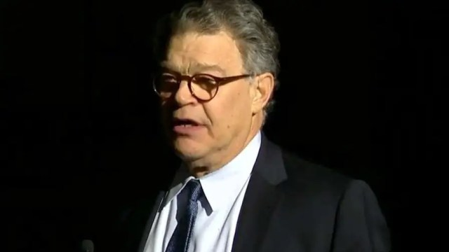 Democratic senator from Minnesota addresses allegations of sexual misconduct, apologizes and says he will cooperate completely with ethics investigation.