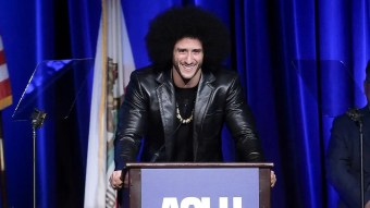 Colin Kaepernick honored at ACLU dinner as NFL attendance still in decline