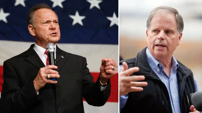 Republican Roy Moore and Democrat Doug Jones are fighting to draw out core groups of supporters ahead of the December 12 special election.