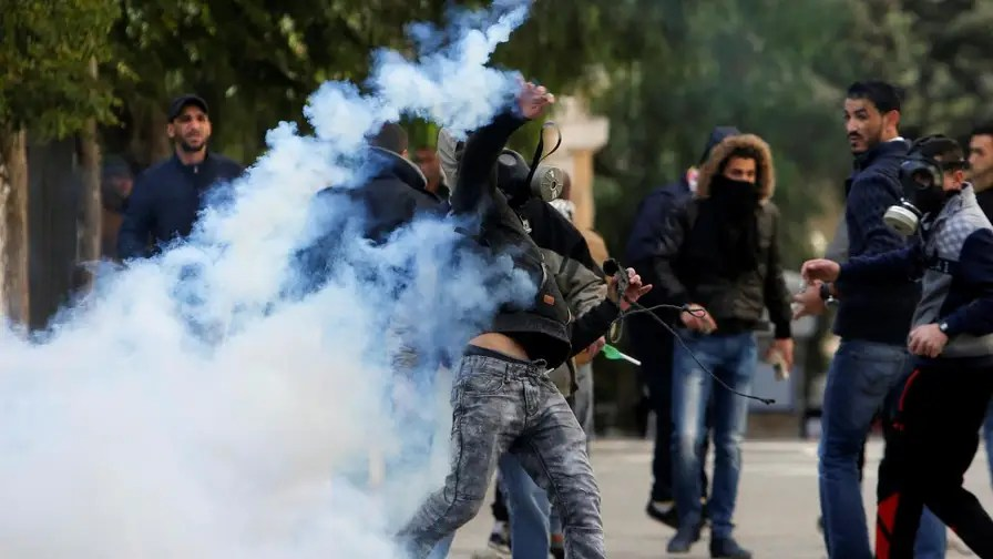 Palestinian protesters clash with Israeli authorities in the West Bank and Gaza strip after President Trump makes a controversial speech deeming Jerusalem the capital of Israel and the future home of the American Embassy.