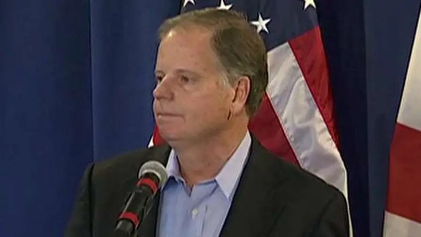 Image result for Doug Jones says it's time for healing