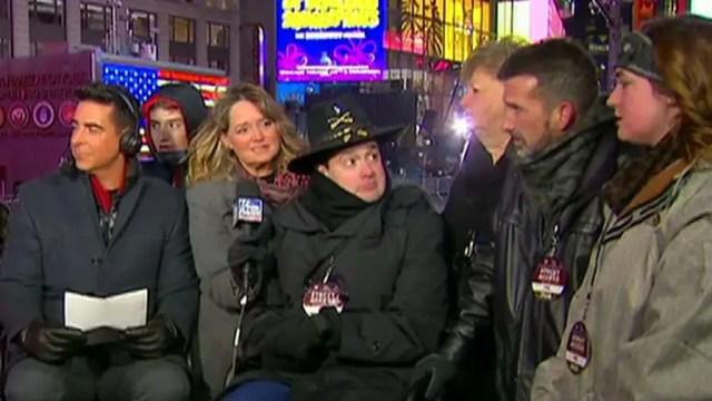 Fox News got the chance to celebrate a surprise for Lt. Garrett Spears.