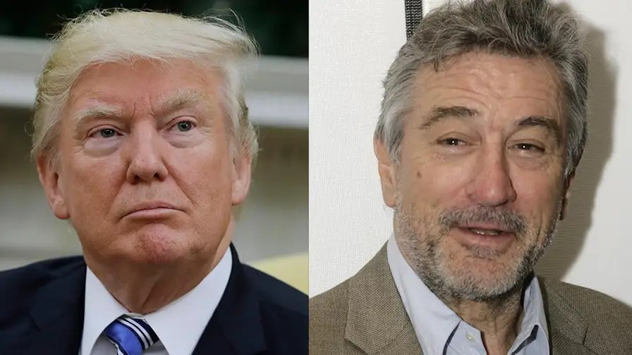 Image result for images robert deniro donald trump