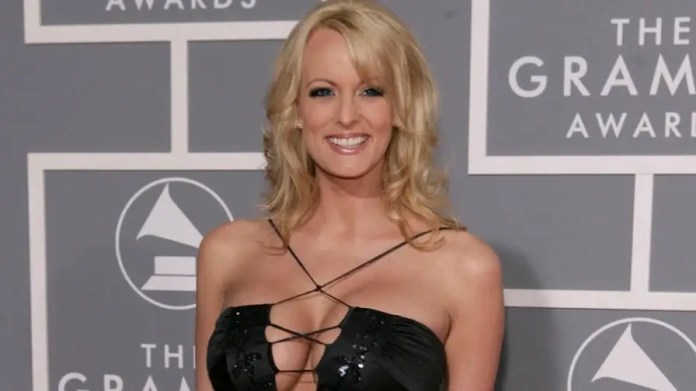 Porn star Stormy Daniels' coy interview with Jimmy Kimmel is raising more questions than answers regarding her alleged affair with Donald Trump in 2006.