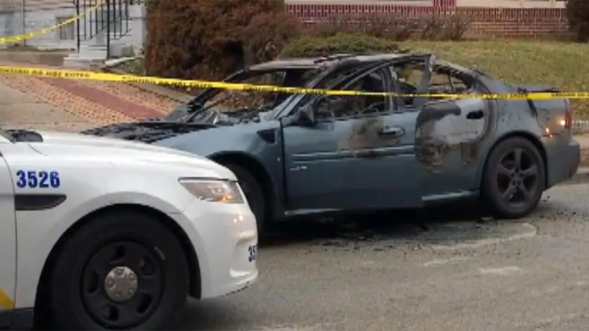 Man abducted at gunpoint, bound and set on fire in car, police say