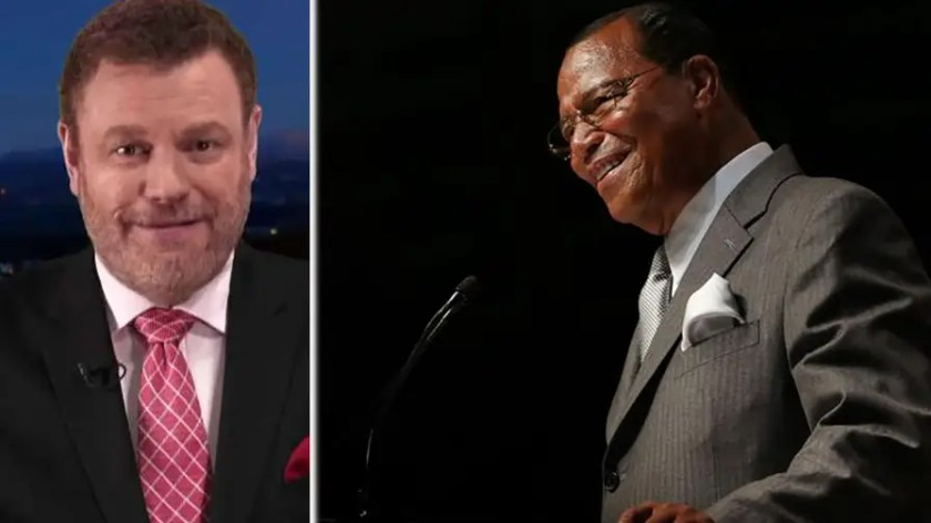 Lots of Democrats seem to friends with Louis Farrakhan. Even Obama has taken a picture. But Farrakhan has praised Hitler, blamed Jews for the 9/11 attacks and said white people deserve to die. Commentator Mark Steyn sounds off on the media's silence on the Dems-Farrakhan connection. #Tucker