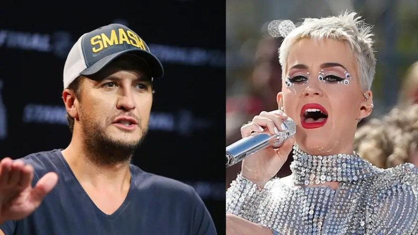 """During auditions, """"American Idol"""" judge Katy Perry kissed an unsuspecting contestant, sparking controversy. Now, Luke Bryan, a fellow judge, is coming to her defense saying it was """"blown out of proportion."""""""