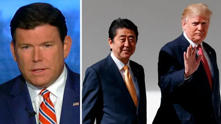 President Trump hosts Japanese prime minister at his Mar-a-Lago estate to discuss trade, situation in North Korea. 'Special Report' anchor weighs in on 'The Daily Briefing.'