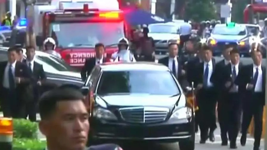 Kim Jong Un arrives in Singapore for historic summit with President Trump; Rich Edson reports.