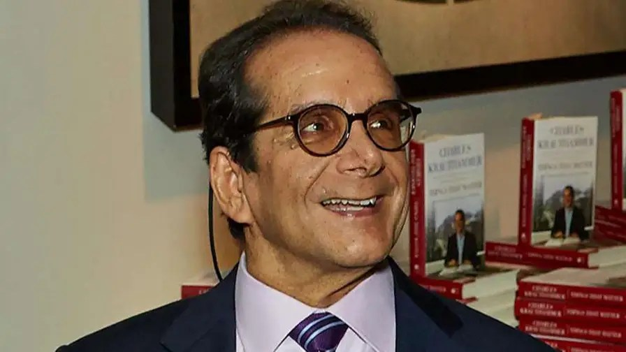 Columnist, author and Fox News commentator Charles Krauthammer lived his life telling others exactly what he thought.