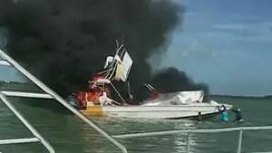 Boat explosion off of Exuma, Bahamas kills an American tourist, injures 9.