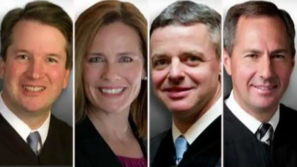 What are the differences between the four judges on Trump's SCOUTS shortlist? Insight on 'America's News HQ.'