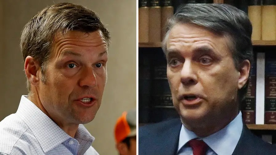 Candidate Kris Kobah, who was endorsed by president Trump, holds a narrow lead; Dan Springer reports on the race.