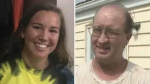 Wayne Cheney acknowledges taking a polygraph test in Brooklyn, Iowa; Matt Finn reports on the search for the missing college student.