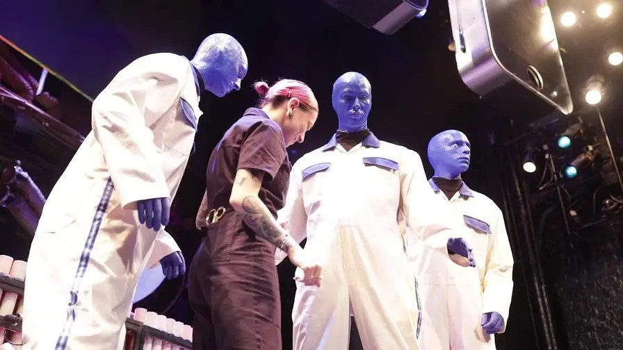 'Project Runway All-Star' alum Helen Castillo plans to debut the brand new costumes of Blue Man Group at New York Fashion Week.