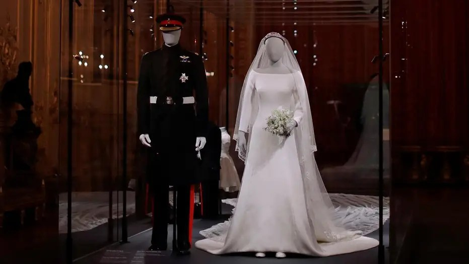 Meghan Markles Givenchy wedding gown goes on display at Windsor Castle  Fox News