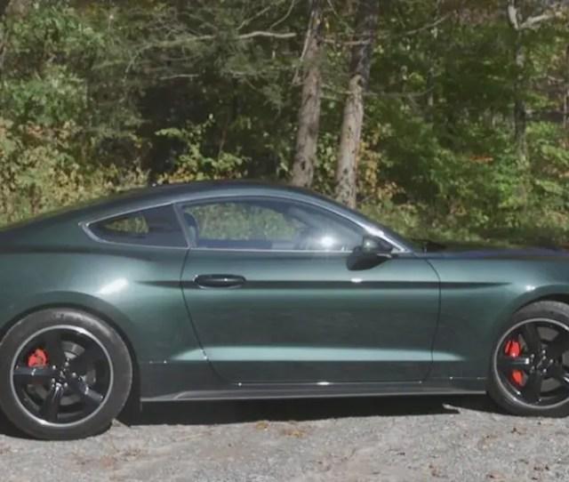 Ford Mustang Gt Bullitt Test Drive