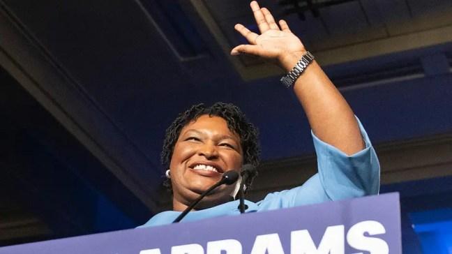 Joe Biden considering Stacey Abrams as 2020 running mate